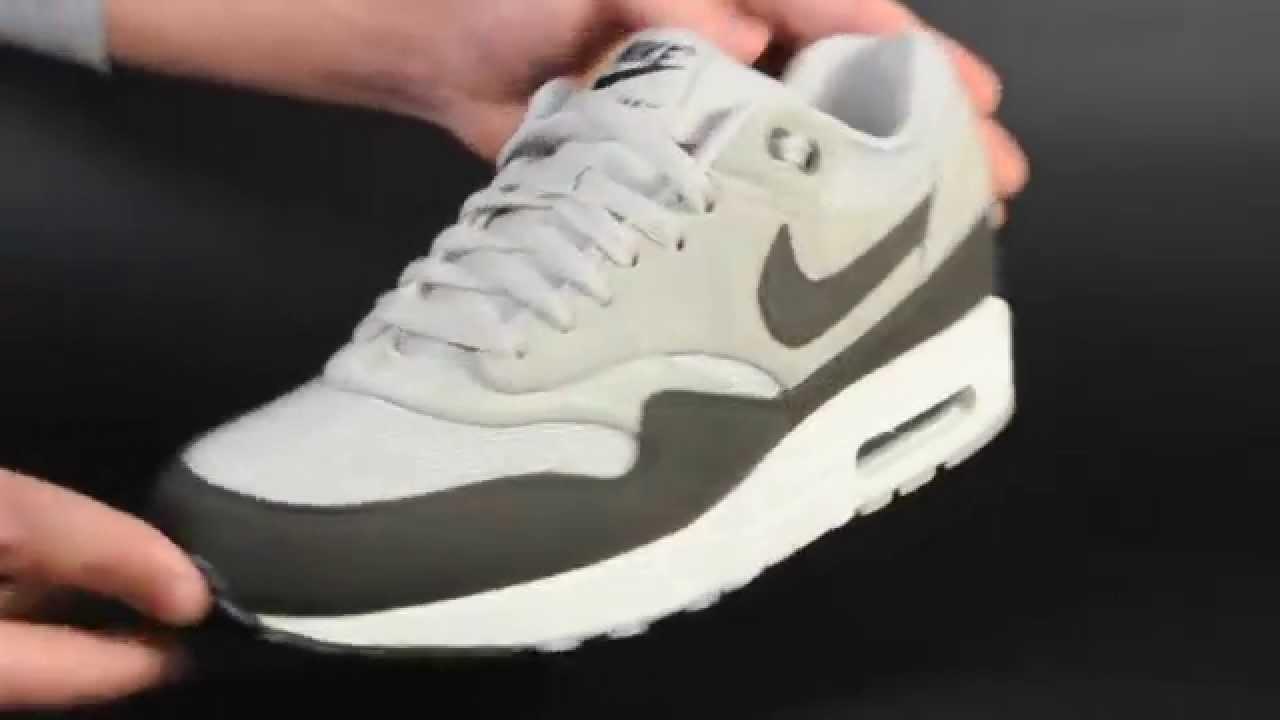 Nike Air Max 1 GRANITE DEEP SMOKE SAIL BLACK