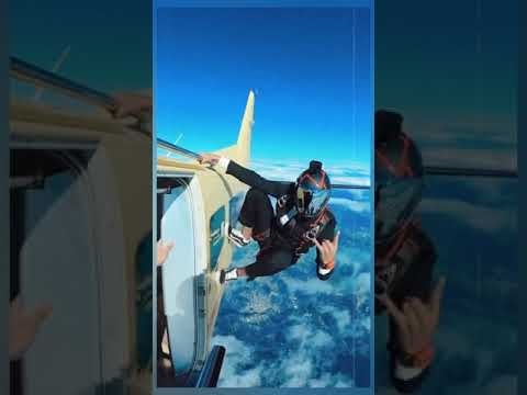 Luxury Lifestyle Experience – Expensive Travel Experience Skydiving #Tiktok #shorts