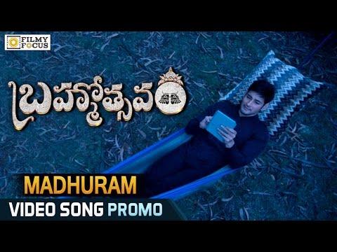 Madhuram Video Song Trailer || Brahmotsavam Movie Songs || Mahesh Babu - Filmyfocus.com