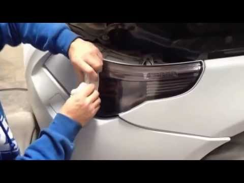 PlastiDip Spraying Whole Car.