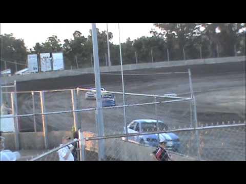 Bill Benton Raceway Park Heat Race
