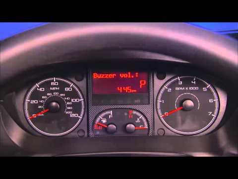 2015 Ram ProMaster Electronic Vehicle Information Center (EVIC)