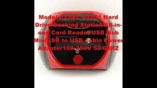 SATA Hard Drive Docking Station + Multi-Format Card Reader - Deluxe 19.06US$ Ankaka.com