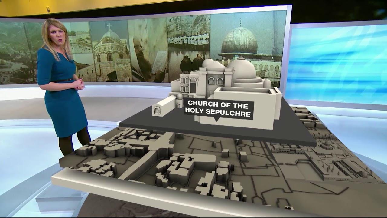 Al Jazeera English Augmented Reality Tour of Holy Land