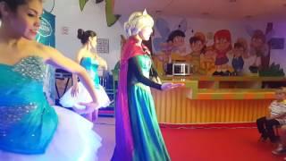 Show de Frozen 2 una Aventura Congelada