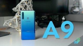 Samsung Galaxy A9 2018 Recenzja - po co nam 4 obiektywy? | Robert Nawrowski