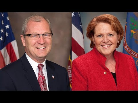 How Trump and trade factor into Heitkamp's reelection battle