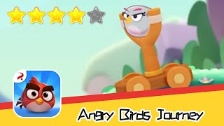Angry Birds Journey 24-25 Walkthrough Fling Birds Solve Puzzles Recommend index four stars