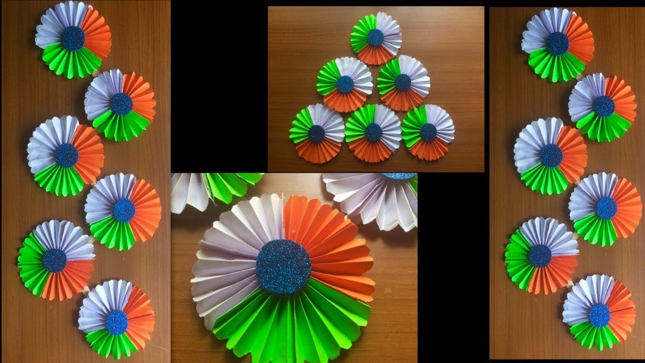 Teachers Day Decoration For School Bulletin Board Independence Paper Origami Idea