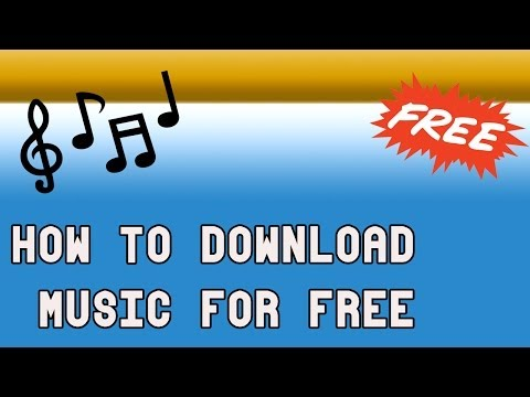 How to Download Music for Free!! 2014 HD