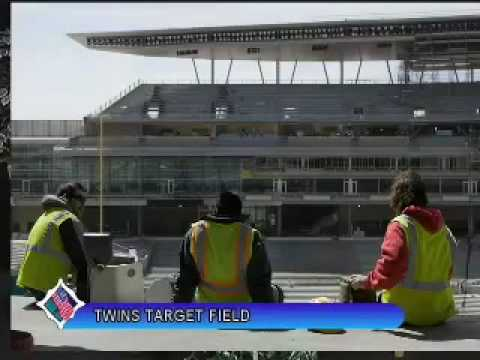 Tour Of New Twins Ballpark