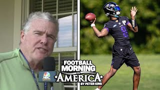 Lamar Jackson focused on football, not contract (FULL INTERVIEW) | Peter King