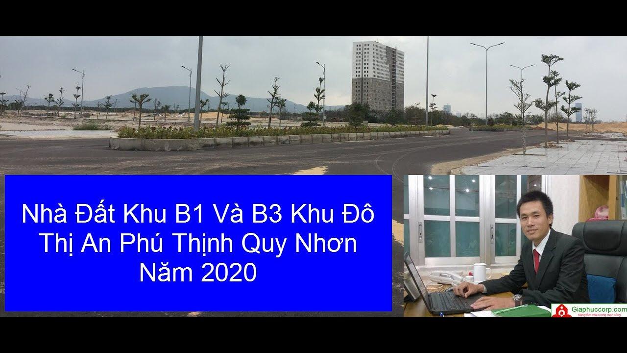 Nhà Đất Khu B1 Và B3 Khu Đô Thị An Phú Thịnh Quy Nhơn Năm 2020