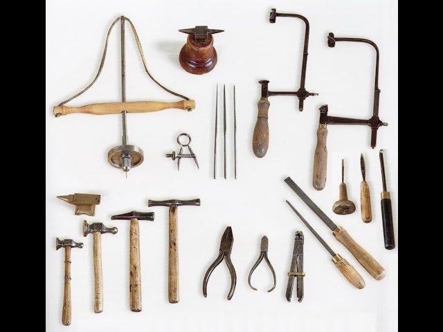Ручной инструмент ювелира.