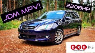 2008 jdm subaru exiga gt turbo test drive & review!