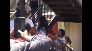 Hood fights (Girl fight) New)Crazy Fight Real Hood 2018