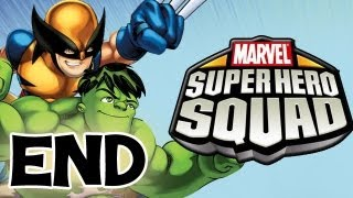 Marvel Super Hero Squad - The Infinity Gauntlet - Part 11 - The End Gameplay Walkthrough (HD)