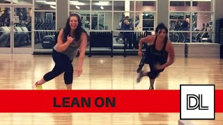 Lean On by Major Lazer DJ Snake || Easy, LEG routine for dance fitness, hip hop, or zumba class