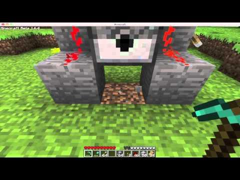 Minecraft - Fully Automatic Sentry Gun