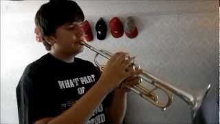 Crazy Train on Trumpet (just playing)