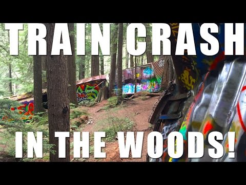Thumbnail: Abandoned Train Wreck in the Forest!