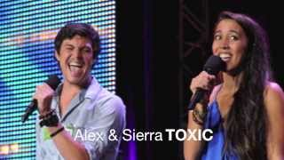 Alex and Sierra - Toxic FULL SONG WITH ENDING (Free download)