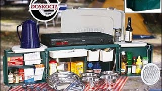 Dosko Campmate (The ultimate camp kitchen chuck box)
