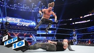 Top 10 SmackDown LIVE moments: WWE Top 10, Apr. 11, 2017
