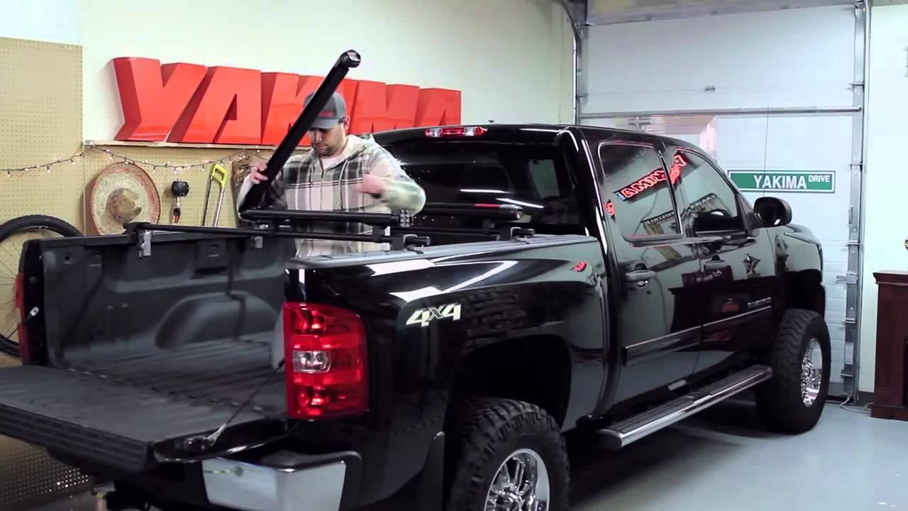 Yakima Bedrock Pickup Truck Rack - YouTube