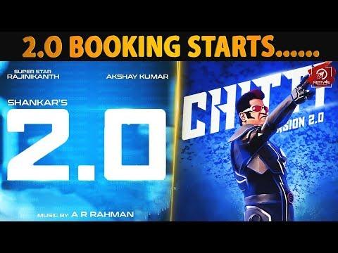 2.0 Booking Starts   Rajinikanth   Shankar   ARR   Superstar   Enthiran