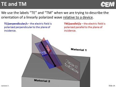 Lecture 3 (CEM) -- Electromagnetic Principles