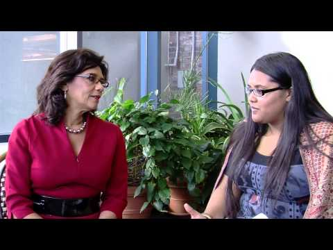 Girls Write Now Interviews Sonia Manzano - YouTube