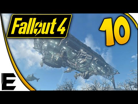 Fallout 4 Gameplay ➤ The BROTHERHOOD of STEEL Arrives! #010
