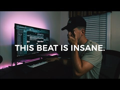 THIS BEAT IS INSANE. Making a Trap Beat from Scratch FL Stud