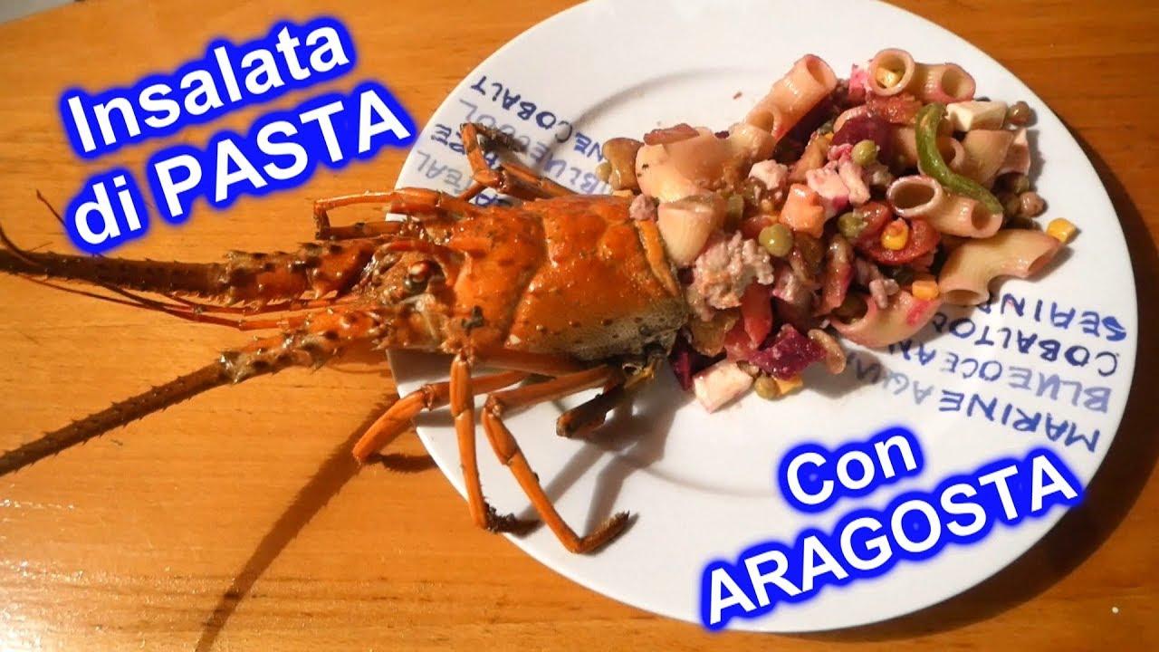 Insalata di pasta Fresca con aragosta - Ricetta per l'ESTATE
