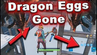 new fortnite dragon eggs disappeared from polar peak - fortnite dragon eggs volcano