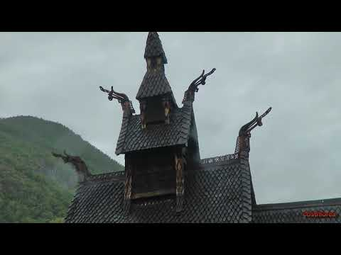 Norway, Flam Station and Borgund Stave Church-Trip to Norwegian Fjords-part 37-Travel,calatorii,vlog