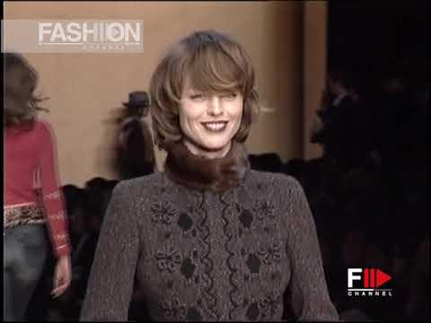 BLUMARINE Fall 2004 2005 Milan – Fashion Channel