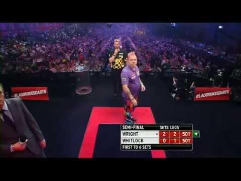 Simon Whitlock vs Peter Wright - PDC World Darts Championships 2014 Semi-Final