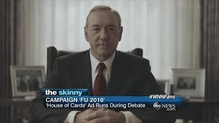 Netflix Premieres 'House of Cards'  Season 4 Trailer | ABC News
