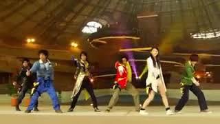 go-buster vs kyoryuger dance