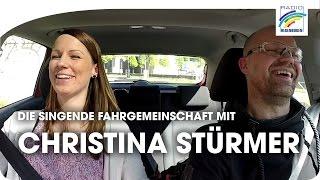 Carpool Karaoke: Christina Stürmer in der singenden Fahrgemeinschaft