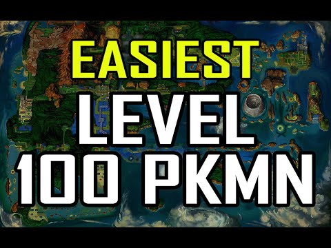 【EASIEST Level 100 Method ORAS】 Pokemon Omega Ruby Alpha Sapphire