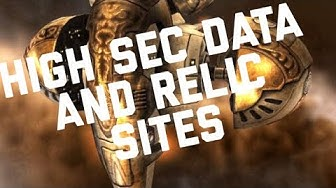 Eve Online - How to find Data and Relic Sites in High Sec