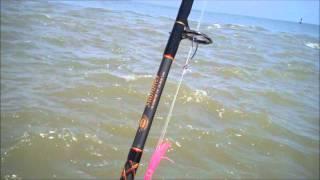 Tarpon fishing off Winyah Bay Georgetown SC / Barrier Island Guide Service