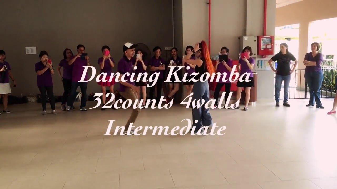 Dancing Kizomba Line Dance