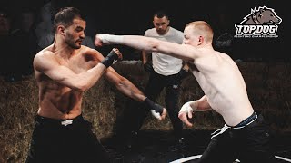Mikhail Siviy vs. Azamat Assassin/ fight of the night/ bare-knuckle fight/ TDFС 3