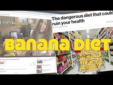Banana Diet Goes Mainstream Media. Do They Get It?