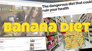 Banana Diet Goes Mainstream Media. Do They Get It?