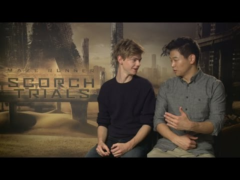 Thomas Brodie-Sangster and Ki Hong Lee talk getting close with the Maze Runner cast